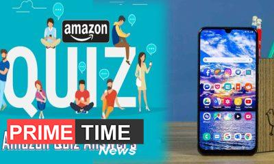 Amazon Quiz Answer these five questions and win Samsung Galaxy A50