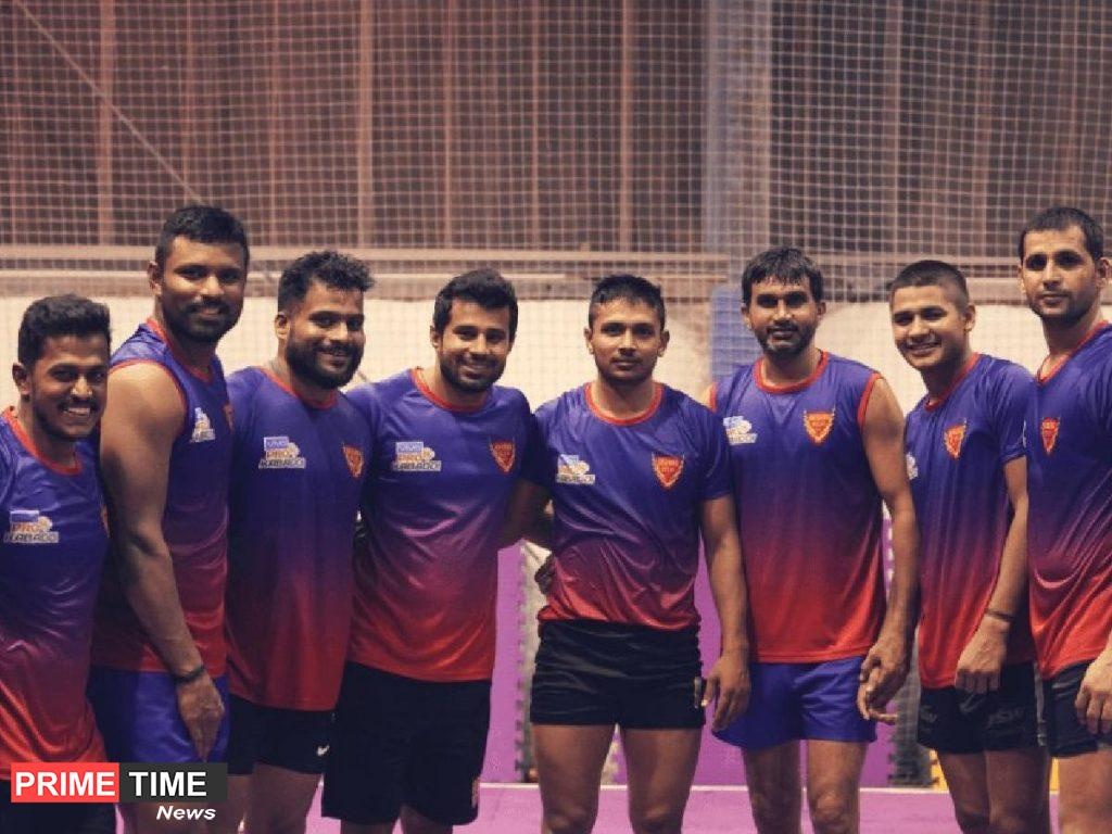 Dabang Delhi K.C team