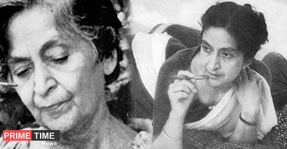 Google created a doodle in honor of Amrita Pritam, compiled the first poem at the age of 16