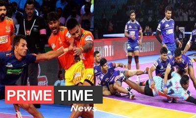 Pro Kabaddi League 2019 Haryana Steelers against Gujarat Fortunegiants