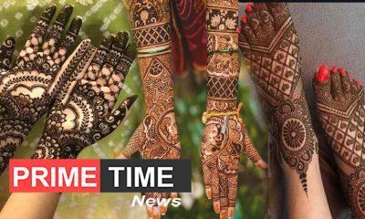 Hartalika teej 2019 5 latest mehndi designs on the occasion of Hartalika Teej