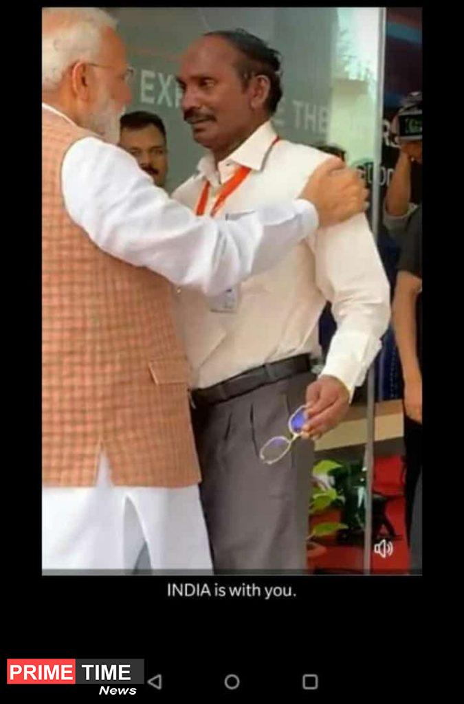 ISRO Chairman Sivan and Narendra Modi