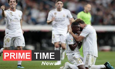 La Liga Real Madrid head to head with Osasuna