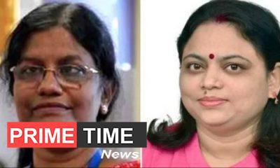 M Vanita and Ritu Karidhal