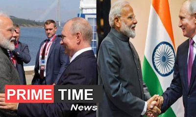 PM Modi arrived in Russia, received a warm welcome, visited the Jewejda Shipbuilding Complex with President Putin