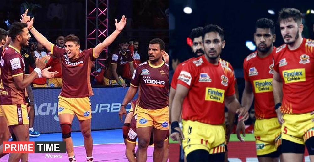 Pro Kabaddi League 2019 U.P. Yoddha Try to beat Gujarat Fortunegiants