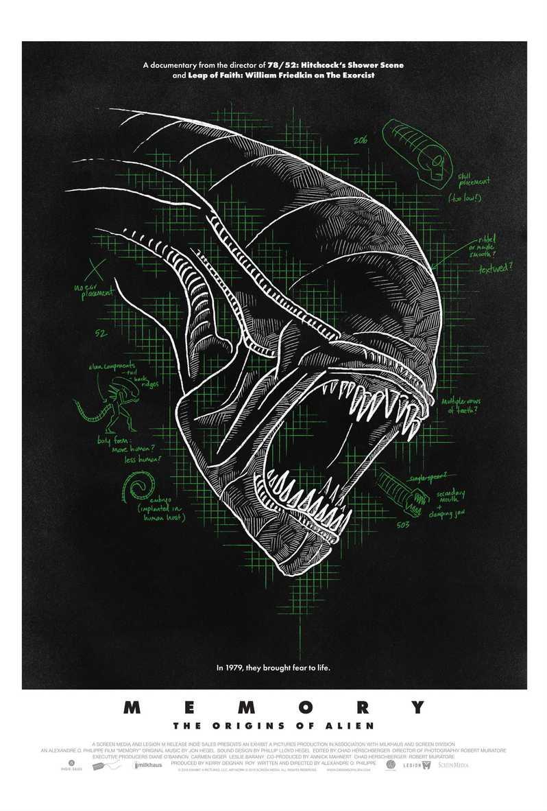 <strong><em>Memory: The Origins of Alien</em></strong> poster