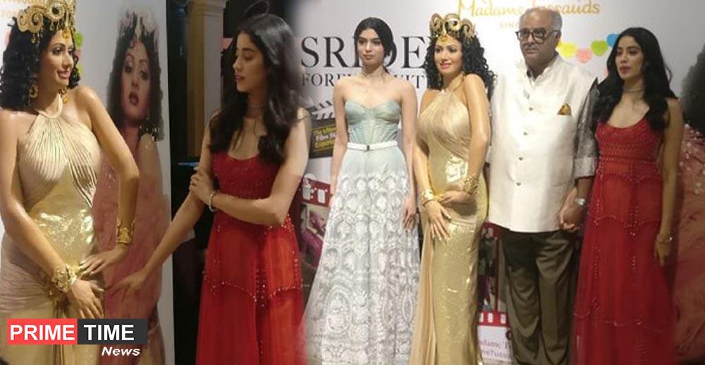Wax statue in Singapore for Evergreen's dream girl Sridevi