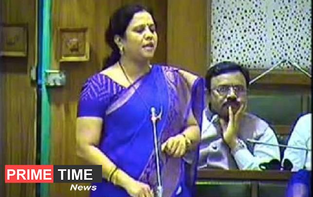 BJP candidate Devyani Farand has been charged with a code of conduct violation.