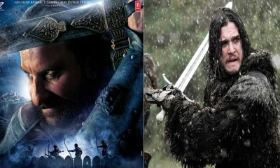 Saif Ali Khan's look from Tanhaji is an ode to Jon Snow, fans are confused