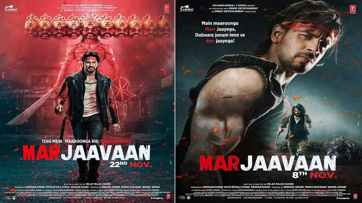Bollywood movie Marjaavan has released its latest video song