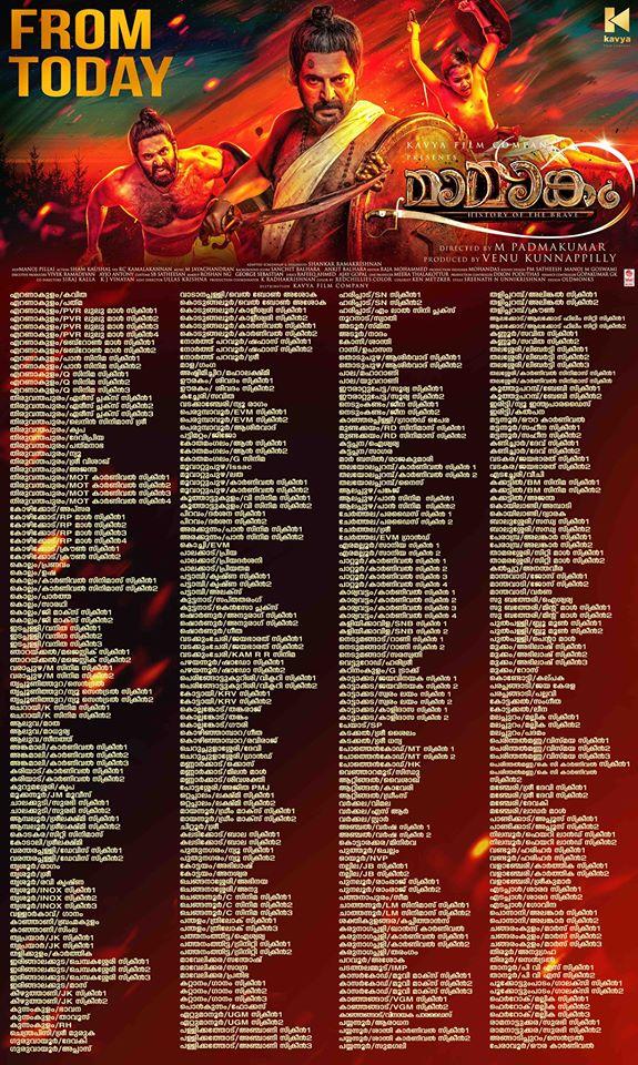 Mamangam Kerala Theatre List