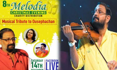 Melodia Conduct a Musical Tribute to Ousepachan