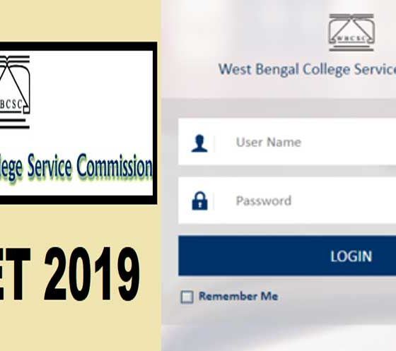 WB SET 2019 admit card released