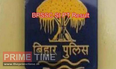 BPSSC SI PT Result