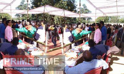 Distribution of polling materials started for polling parties for three-tier panchayat elections in the first phase