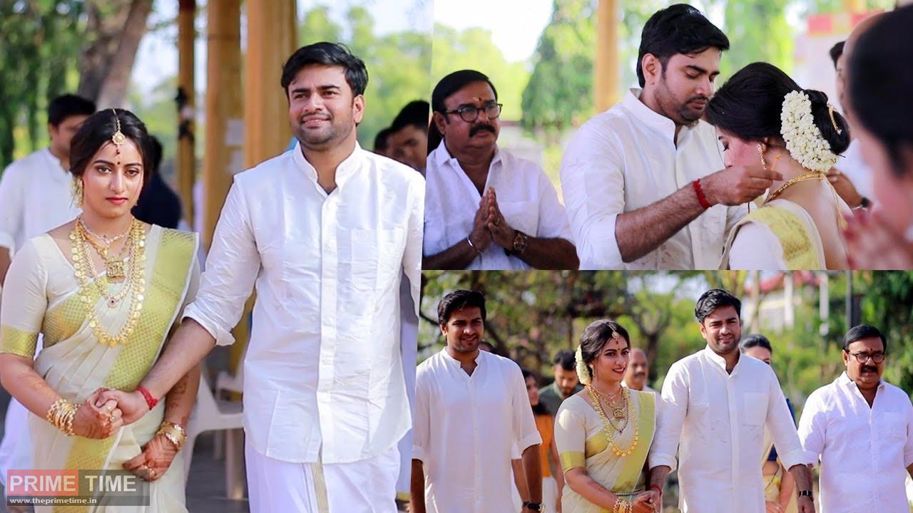 Maniyan Pilla Raju's son Sachin gets married(Video)