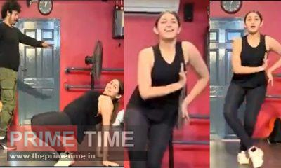 Sayyeshaa's new viral dance video, Watch