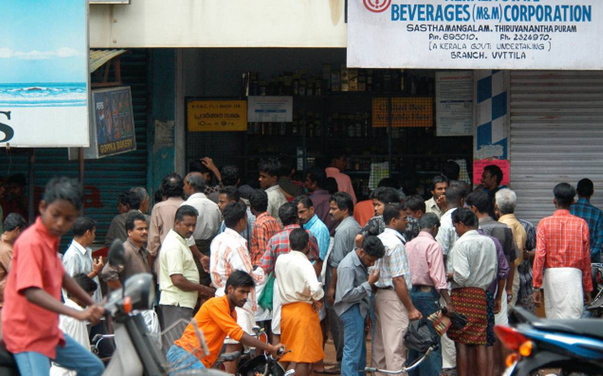 The Government gives permission to sells liquor every first day of the month!