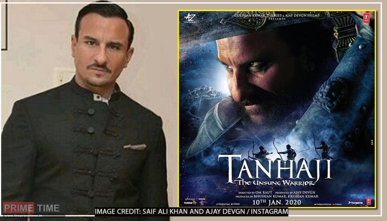 There is no history shown in 'Tanhaji' - Saif Ali Khan