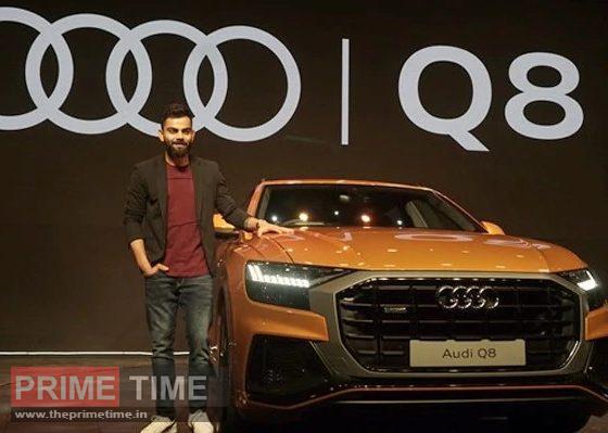 Virat Kohli buys country's first Audi Q8 car