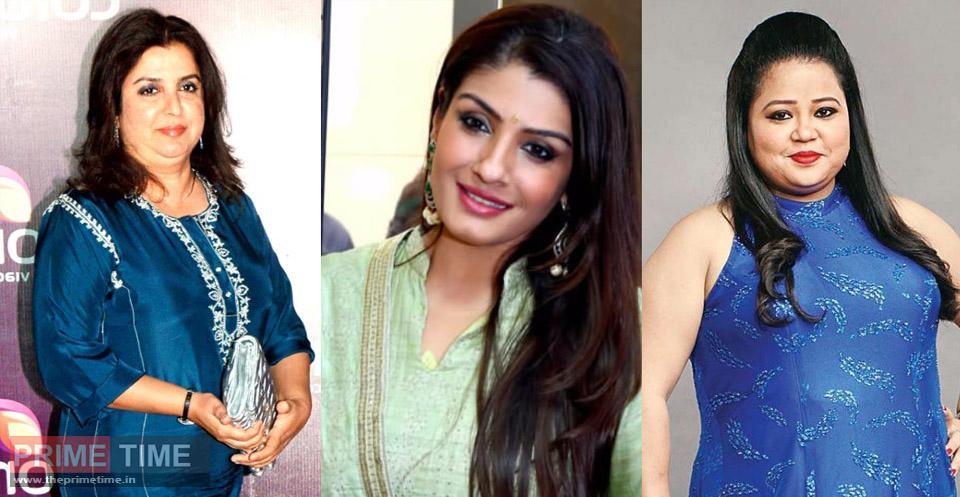 Demand to arrest Raveena Tandon, Farah Khan and Bharti Singh, man appeals to DGP