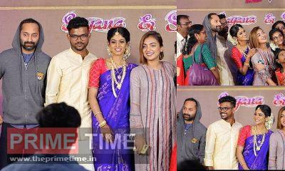 Fahadh and Nazriya at Friend's Engagement Ceremony(Video)