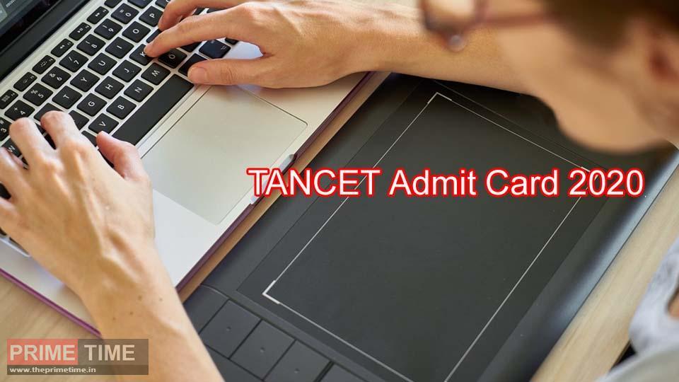TANCET Admit Card 2020