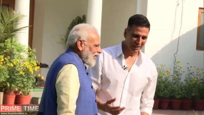 Akshay Kumar and PM
