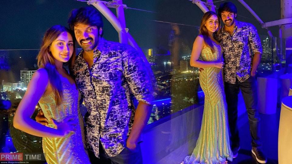 Arya and Sayyeshaa Celebrating first wedding anniversary, See Photos