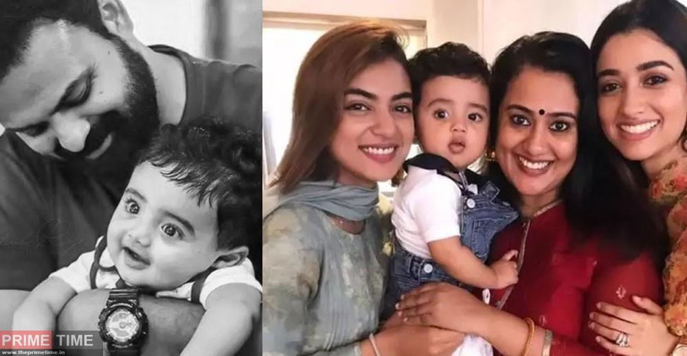 Nazriya with Amal, Priya and Isa