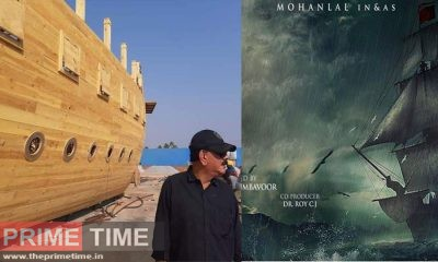 Priyadarshan opened his mind about Marakkar, build a tank within one and a half acres and creating an artificial sea!