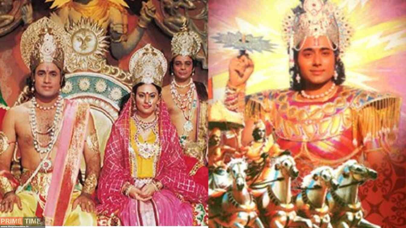 Ramayana and Mahabharata back to Dooradarhans