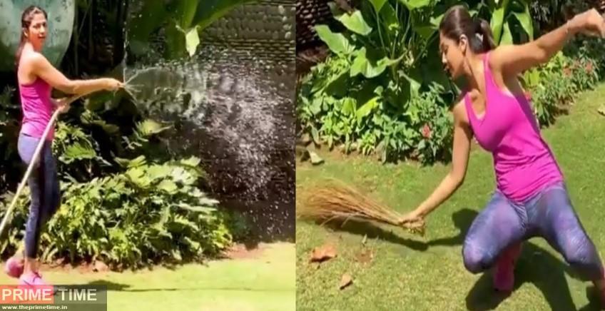 Shilpa Shetty Excercise Video go viral