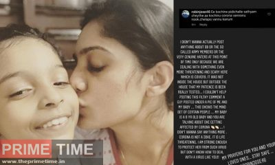 The photo with her daughter got a bad comment, Arya's Mass reply