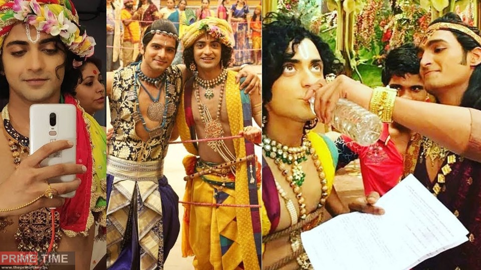 Actors of TV serial 'Radha-Krishna' are stranded at shooting location with 180 crew members