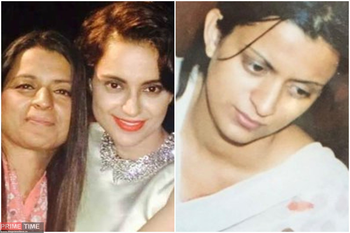 Kangana Ranaut's sister Rangoli's Twitter account suspended, due to disputed posting warning