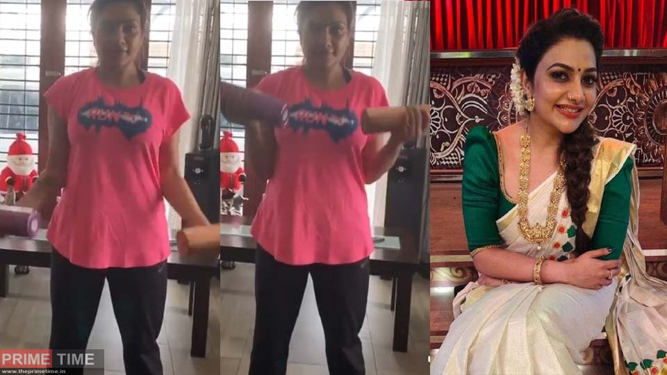 Rimi Tomy's Viral Workout Video!