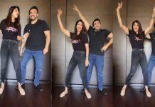 Shilpa Shetty was seen doing Punjabi dance with husband Raj Kundra, shared the video
