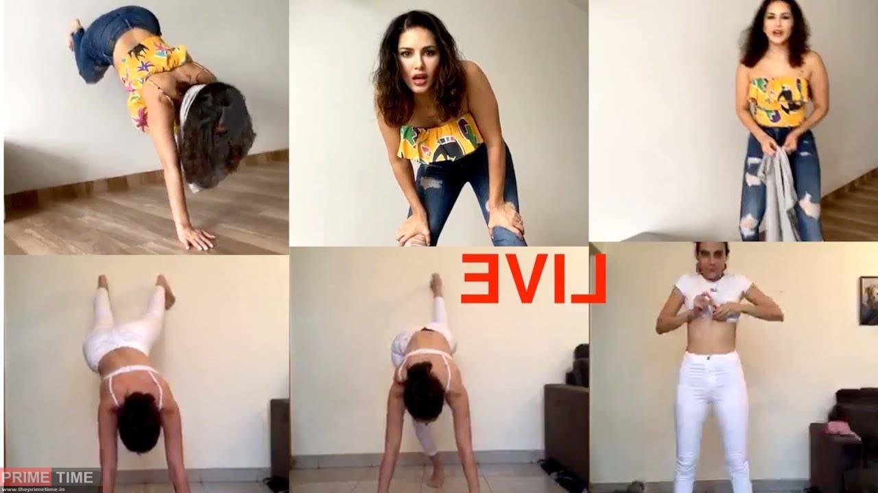 Sunny Leone's T-Shirt Challange Video!