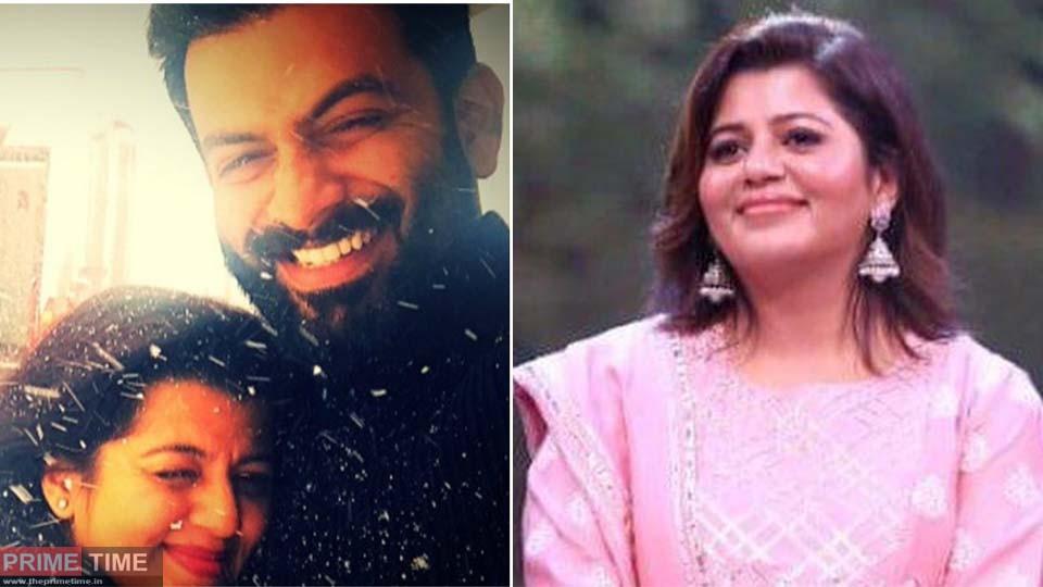Supriya's Post about Prithviraj!