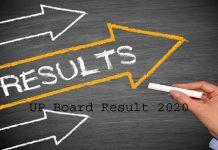 UP Board Result 2020