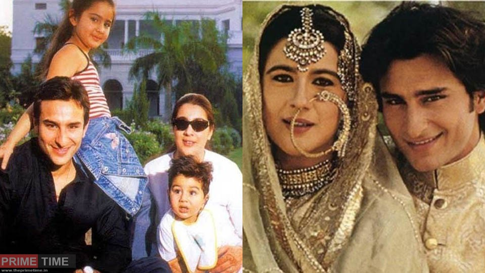 When Saif Ali Khan apologized to Amrita Singh in front of everyone!