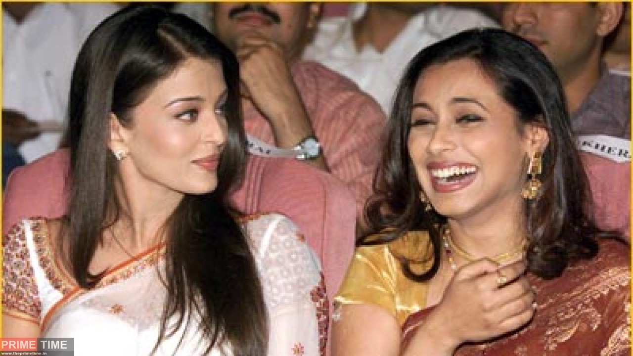 Aishwarya Rai and Raani Mukherjee