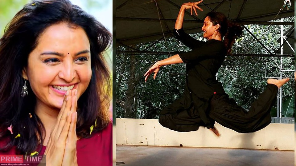 Dancers don't need wings to fly Manju Warrier
