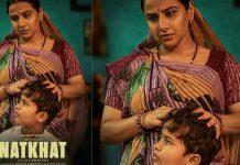 Natkhat Poster Poster release of Vidya Balan's short film 'Natkhat', actress seen in desi style