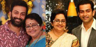 Prithviraj says, this is my mother said; Raju, sleep well ..