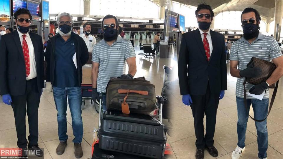 Prithviraj's Aadujeevitham tam back to Kerala, Photos are Viral!