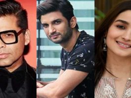 After Sushant's death, they are playing the drama Actor Nikhil opposite Karan Johar
