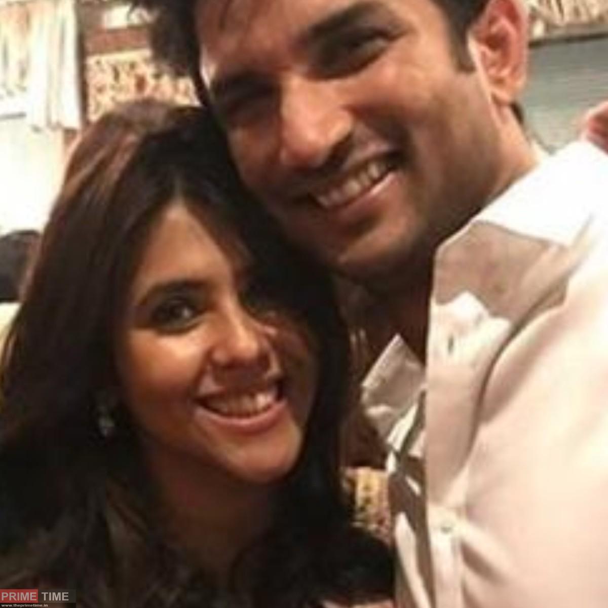 Ekta Kapoor and Sushant